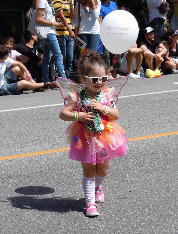 Cute kid Vancouver Pride Parade