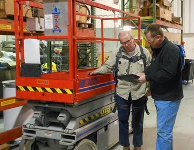 scissor lift inspection