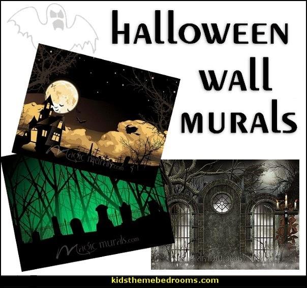 decorating theme bedrooms maries manor halloween wall mural halloween zombie tree ghost pixersize com