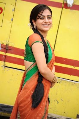 aksha in saree latest photos