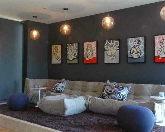 model lampu hias cantik untuk ruang tamu desain rumah