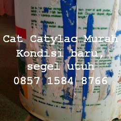 Cat Tembok Catylac Cat Dulux bukan Vinilex dan Wallpaper