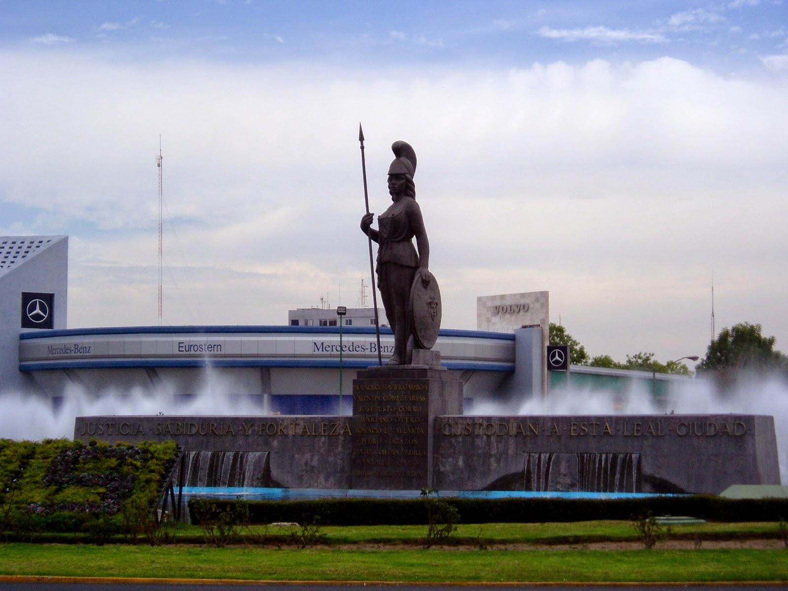 Glorieta la Minerva - Guadalajara