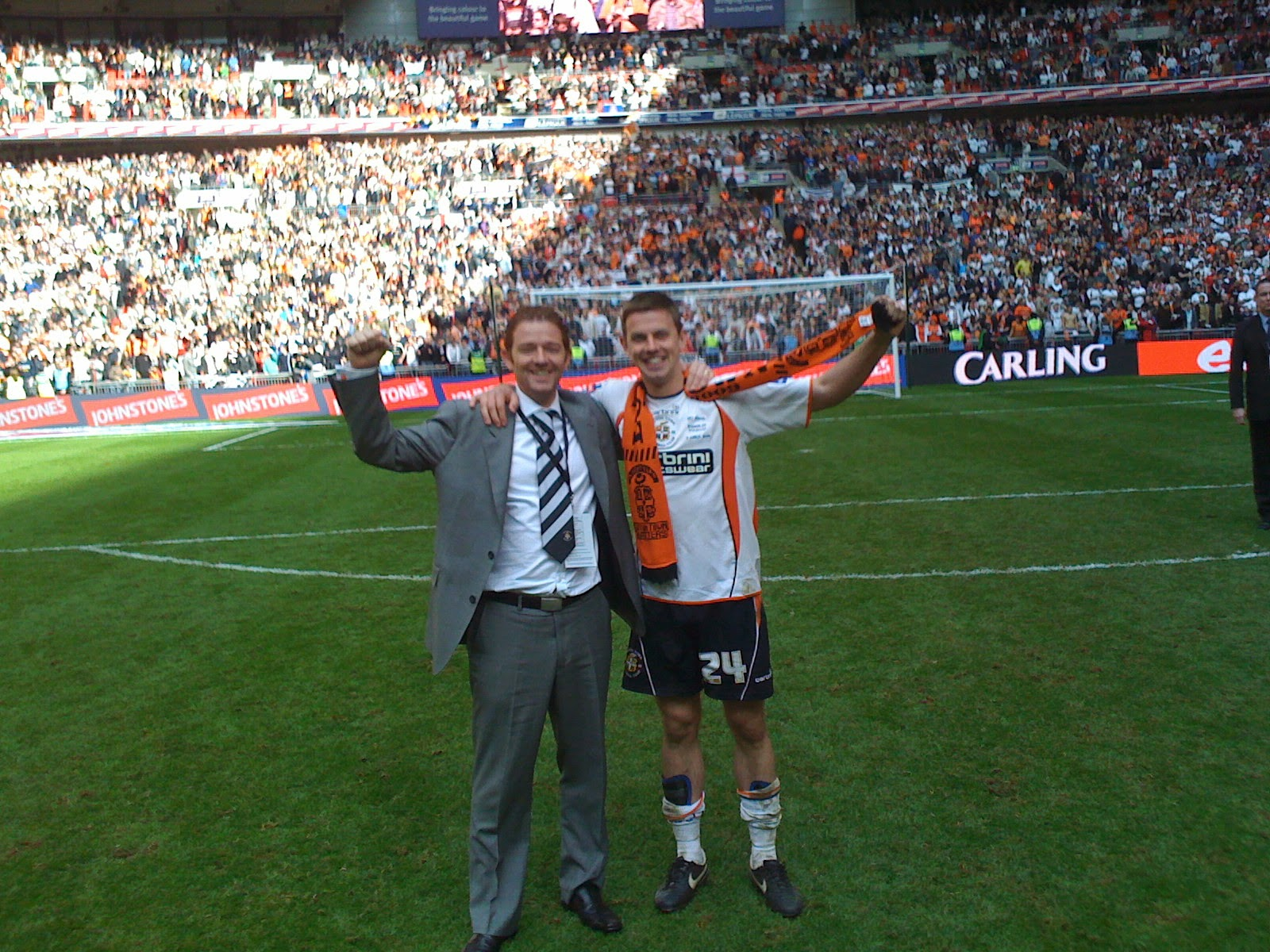 At Wembley with LTFC
