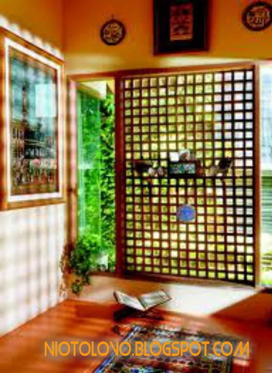 Desain Mushola Minimalis Dalam Ruangan Rumah