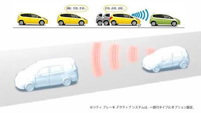 ระบบความปลอดภัย ฮอนด้า แจ๊ส 2014 City-Brake Active System
