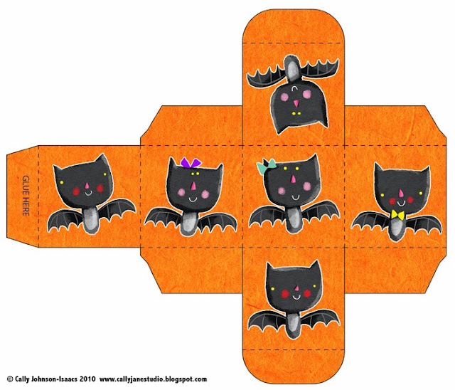 Halloween: nice Free Printable Boxes.
