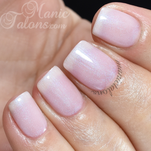 Pink Gellac Classic Pearl Swatch