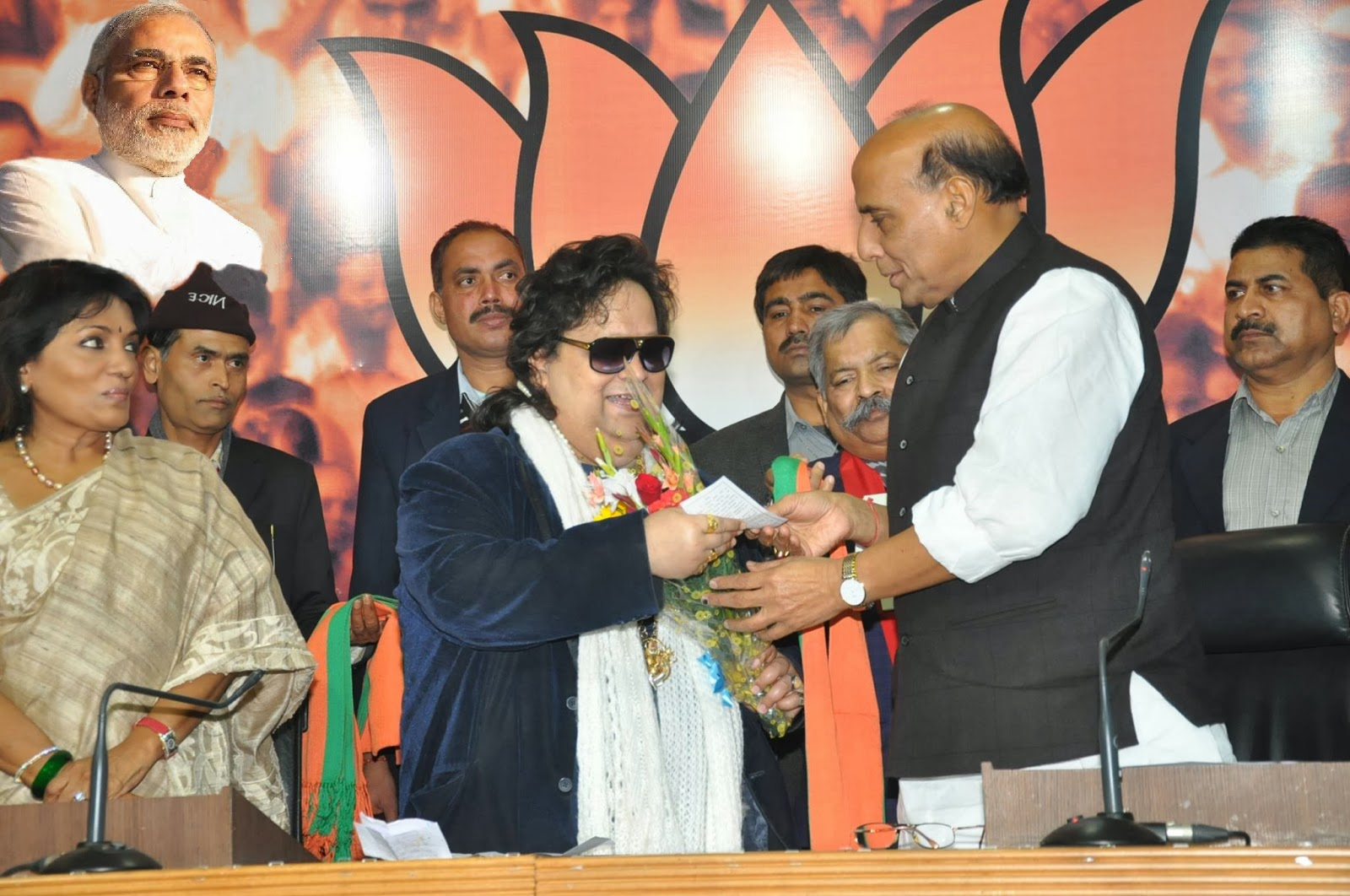 Will agitate against mamata banerjee for attacking our workers bjp the indian express - The Hindu Special Correspondent New Delhi 31 January 2014 Hindi Film Music Director Bappi Lahiri Joined The Bjp On Friday