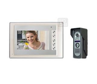 SY-803+D9C-white 1/1 - комплект видео домофона (1 монитор)