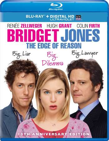 Poster Of Bridget Jones The Edge of Reason 2004 English 300MB    Free Download Watch Online