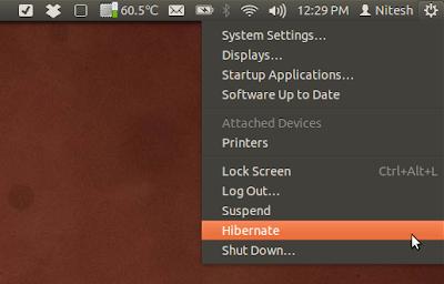 Hibernate в Ubuntu 12.04 Precise Pangolin
