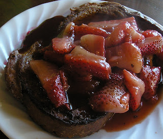 French Toast and Berries Recipe (sugar free)
