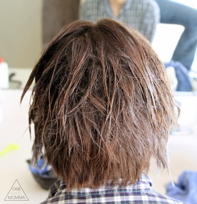 Short hair ombre tutorial how to do ombre at home one little momma how to color your own ombre short hair ombre tutorial pmusecretfo Choice Image