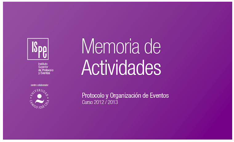 Actividades en isPE