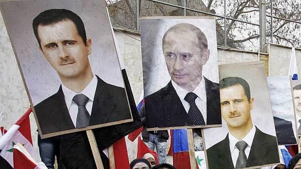 Rússia está ao lado de Assad contra Estado Islâmico