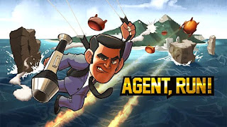 Screenshots of the Agent, Run! for Android tablet, phone.