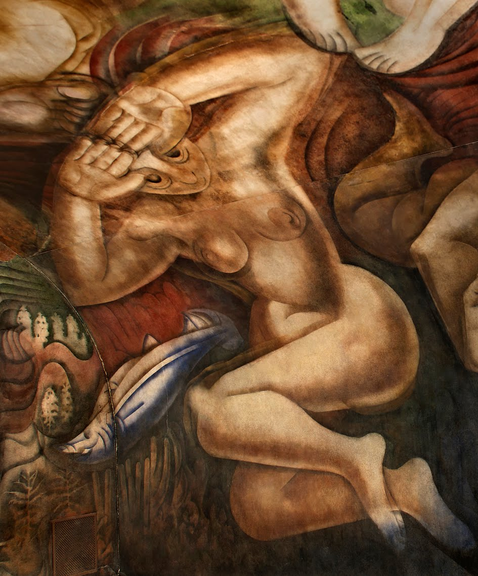 Que tiene la mujer argentina en la cabeza for El mural de siqueiros en argentina