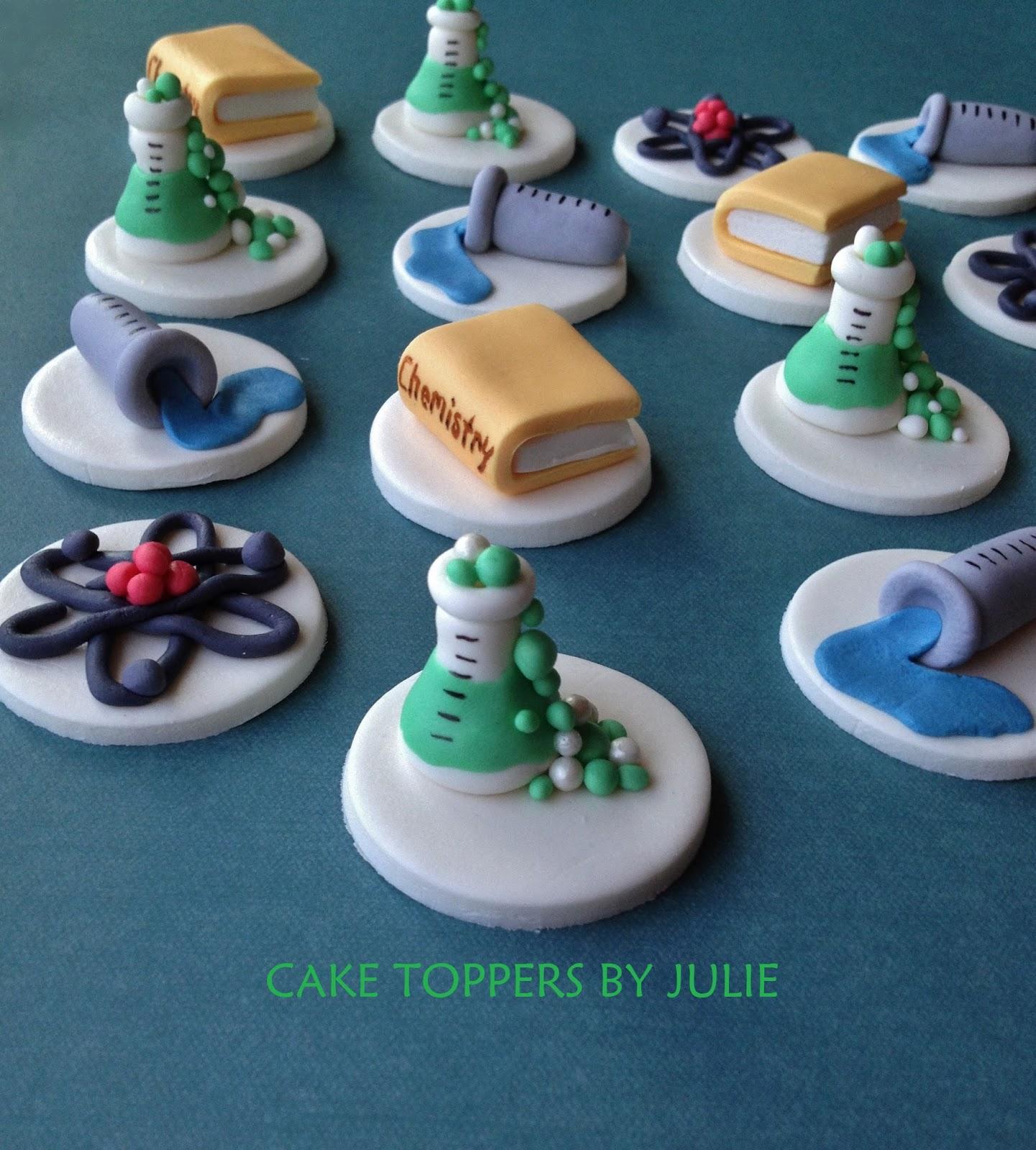 Chemistry Cake Decorations