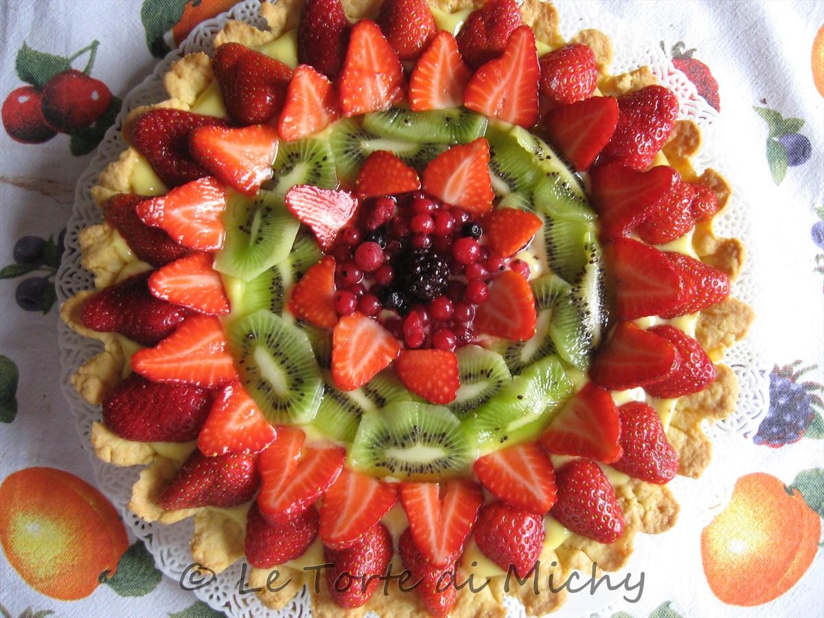 crostata alla frutta le torte di michy