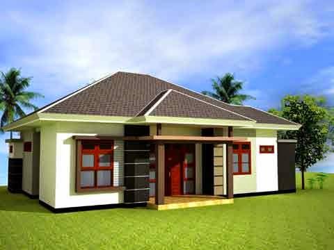 contoh desain rumah sederhana minimalis