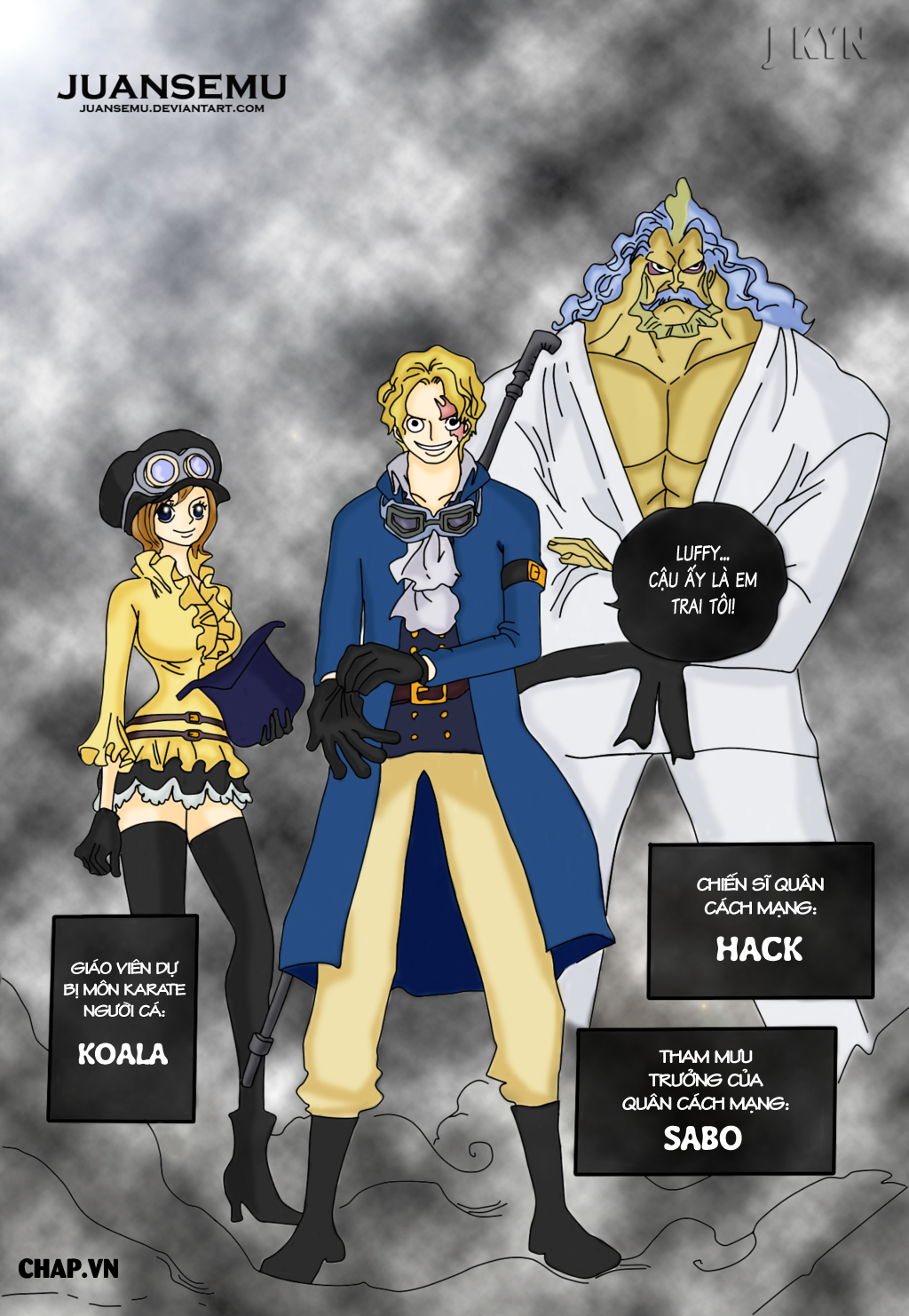 One Piece Chapter 746: Những ngôi sao 019
