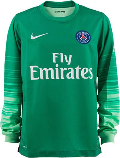 bf386a83b Sale Paris Saint-Germain 15-16 Goalkeeper Kit Released