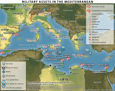 The Mediterranean would be turned into a Nato-controlled lake