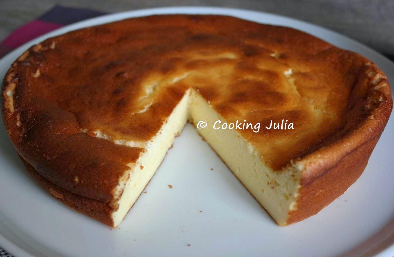 Gateau mascarpone et fromage blanc
