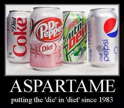 Aspartame Die in Diet