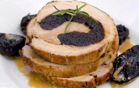 Рецепт рулет мясной с черносливом
