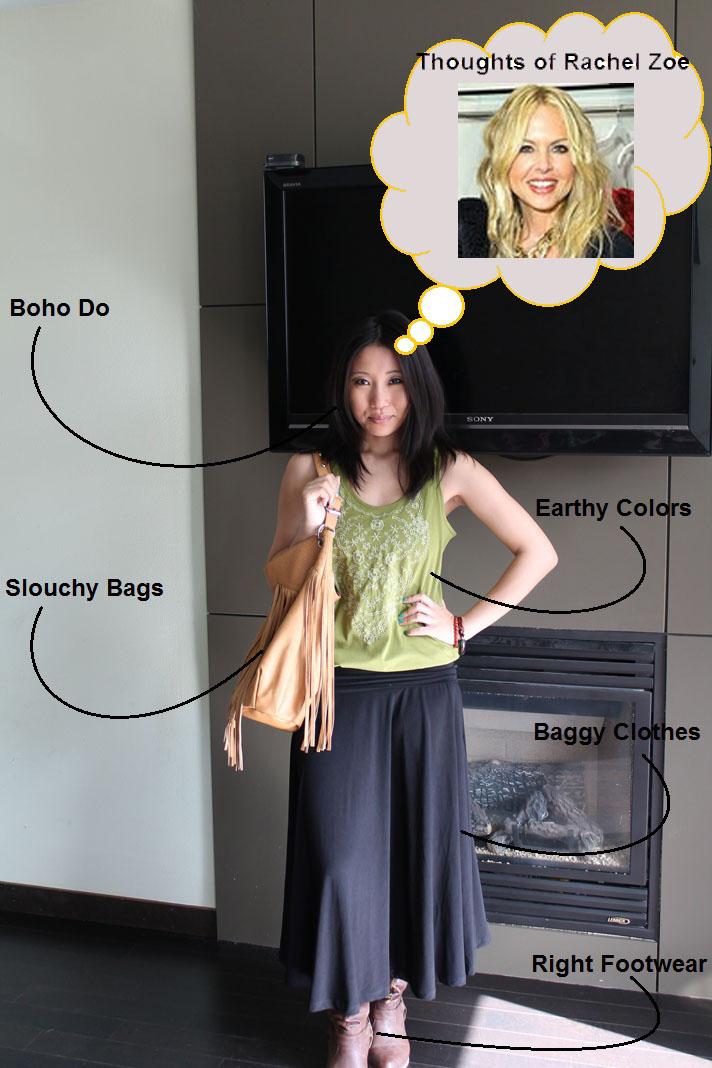 how to dress boho chic