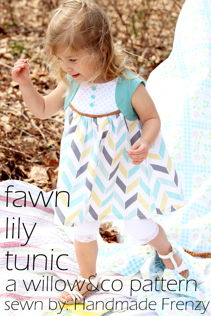 The Fawn Lily Tunic - A Willow & Co Pattern
