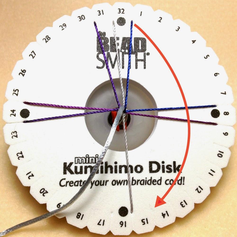 Kumihimo Braiding Steps