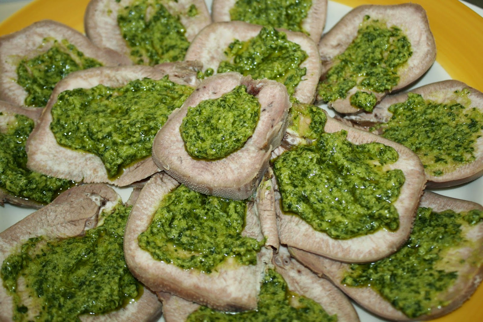 lingua salsa verde