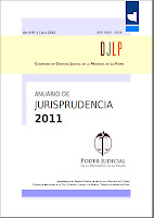 Tapa Anuario de Jurisprudencia 2011