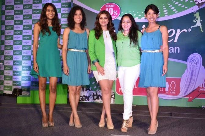 Parineeti Chopra at Whisper Touch the Pickle Campaign Launch