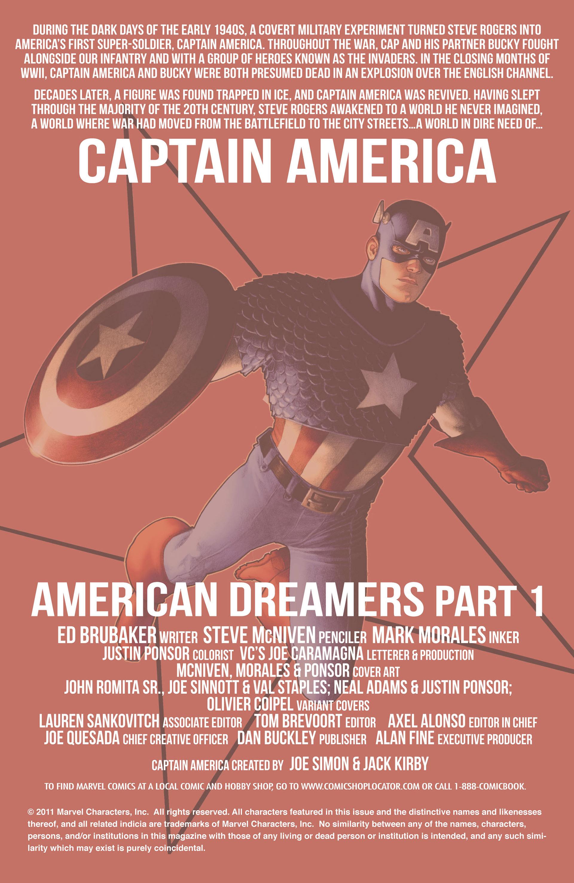 Captain America (2011) Issue #1 #1 - English 2