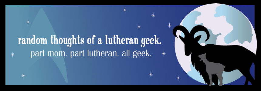 Random Thoughts of a Lutheran Geek