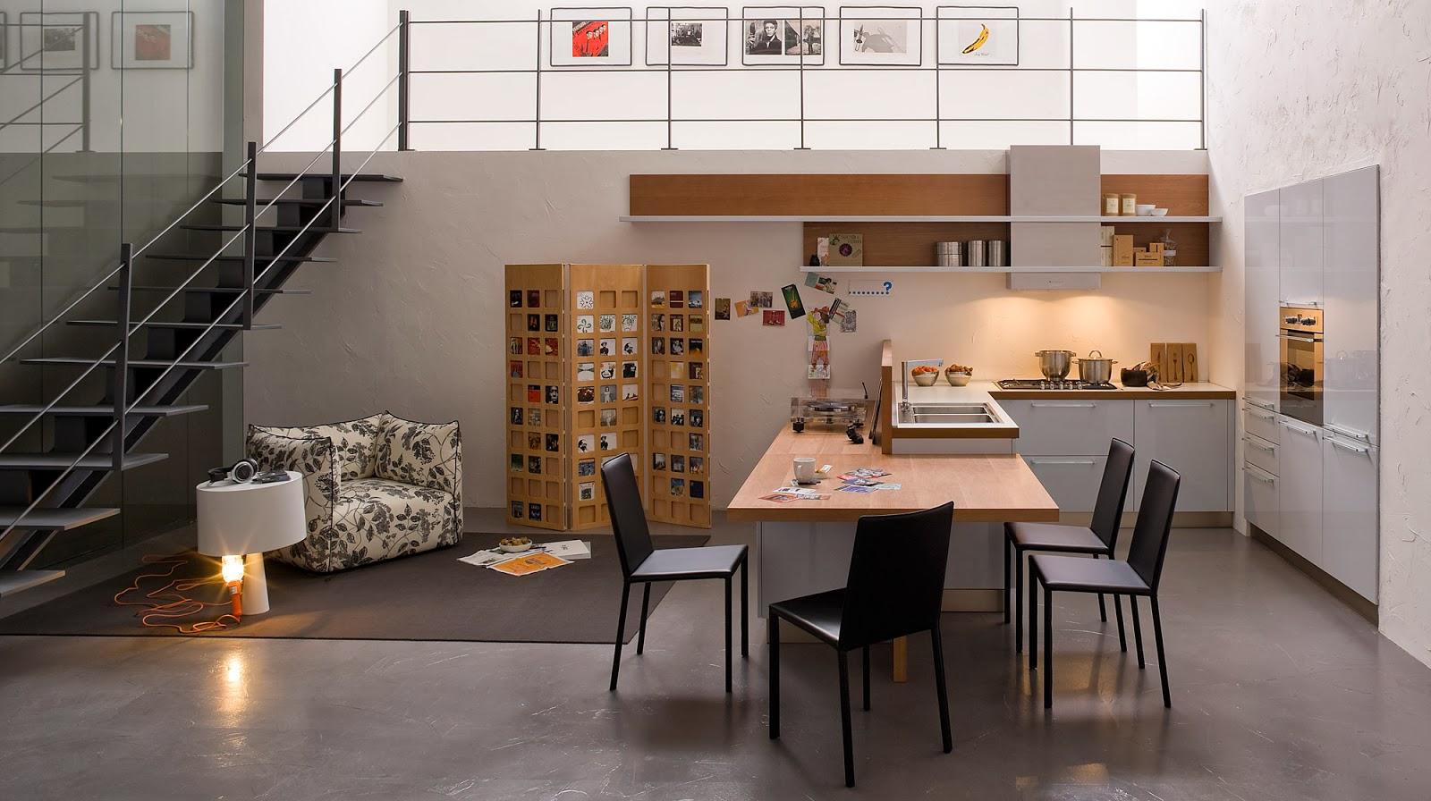 La cocina abierta y su papel integrador en el hogar for Concepto de cocina abierta