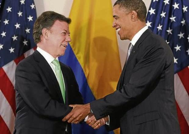 Juan Manuel Santos pedirá a EEUU eliminar visas para colombianos