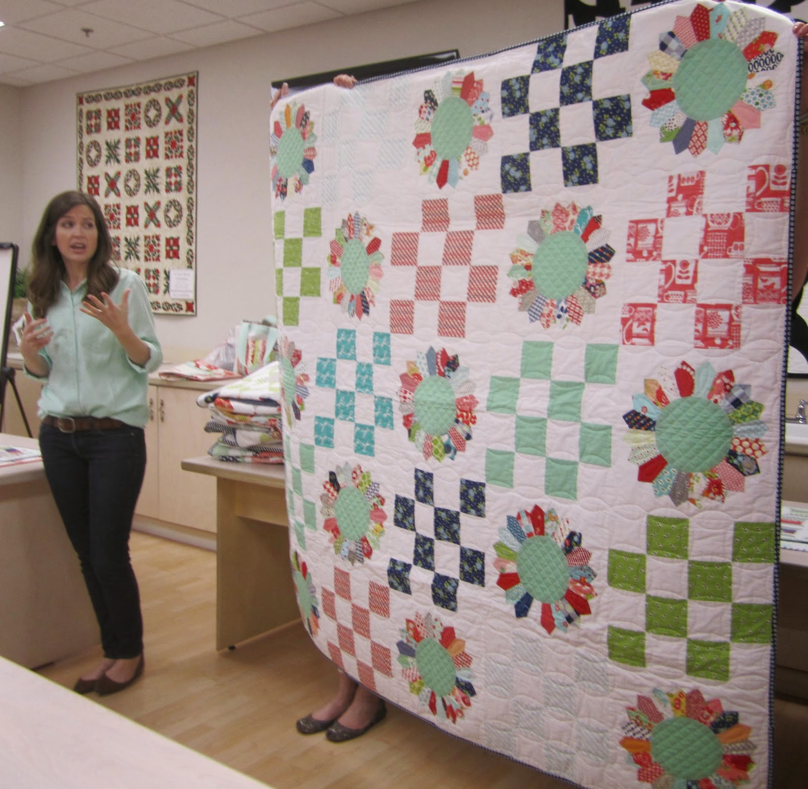 camille roskelley's field day quilt