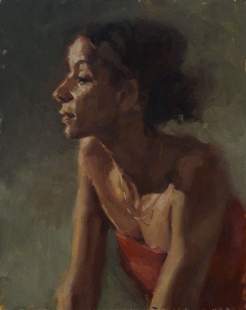 aaron coberly pinturas mulheres impressionista