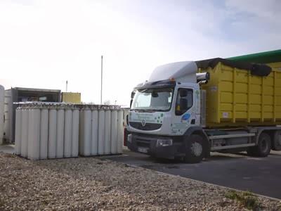 camion alimenté en biométhane carburant issu du biogaz