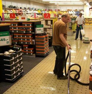 Strojové generální čištění podlah a všech ostatních podlahových krytin