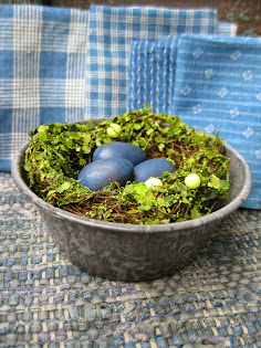 nest in a granite bowl $20