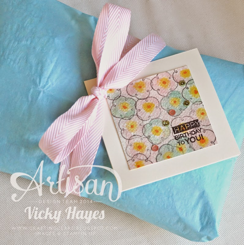 See Stampin' Up chevron ribbon on my UK independent Stampin' Up blog