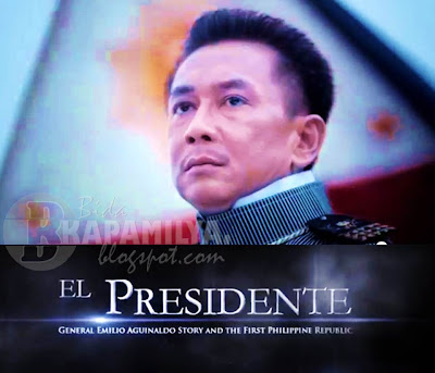 Jeorge 'ER' Estregan in El Presidente: General Emilio Aguinaldo Story and the First Philippine Republic