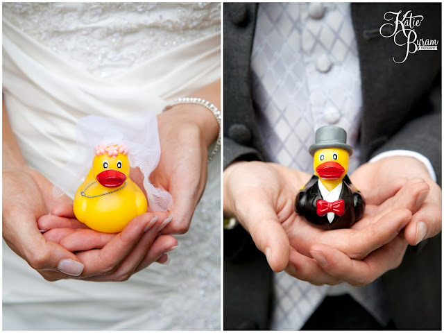 wedding ducks, novelty rubber duck, wedding rubber duck, , crook hall durham wedding, st michaels houghton le spring wedding, crook hall and gardens, durham wedding venue, katie byram photography, durham wedding photographer, newcastle wedding photographer, relaxed weddings durham, purple wedding, calla lillies