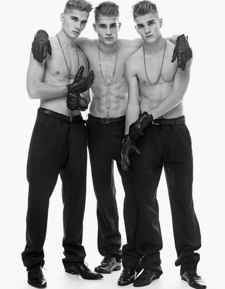 Nude triplets twins brothers cousins